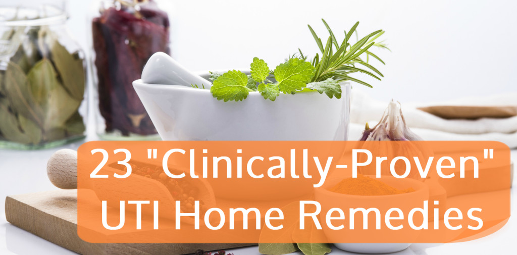 23 Clinically Proven UTI Home Remedies